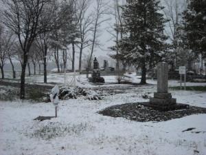 別府墓地 かつて土葬が行なわれていた場所