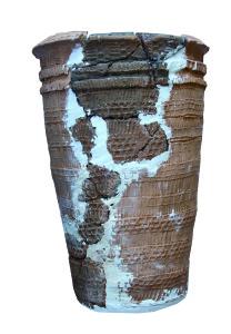 図1.押型文土器(士別市多寄遺跡出土)