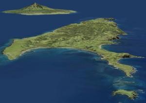 礼文島と利尻島