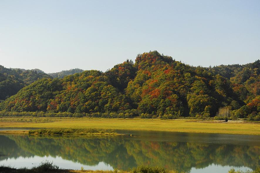 秋のオプシヌプリ