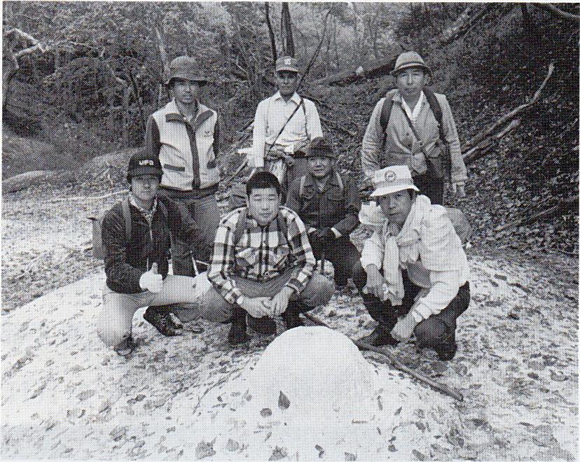 丸山噴泉塔発見の記事(1980年10月7日、十勝毎日新聞)