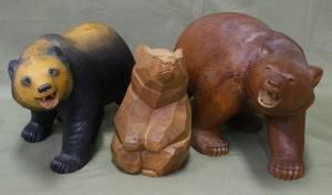 加藤の木彫り熊